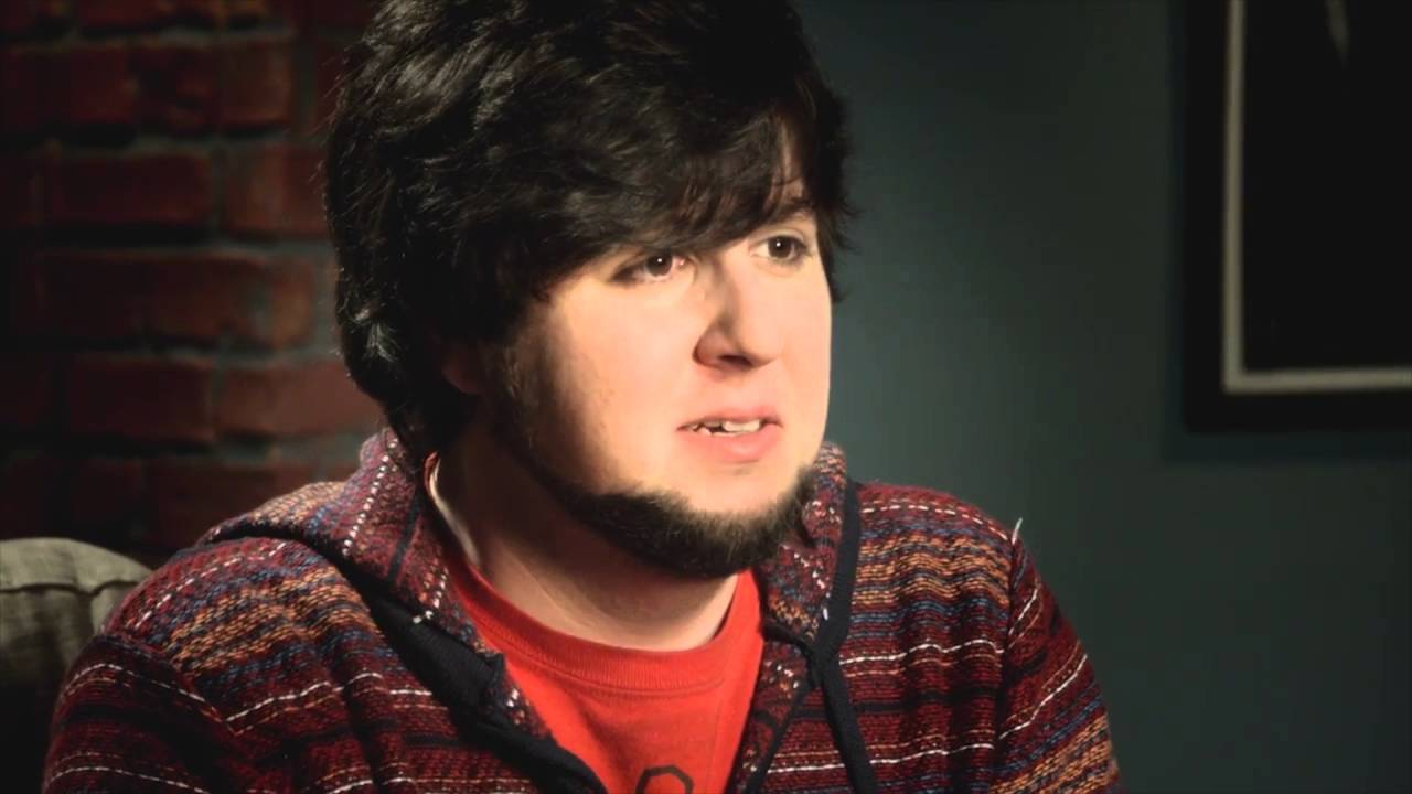 JonTron looking lost, and distraught.