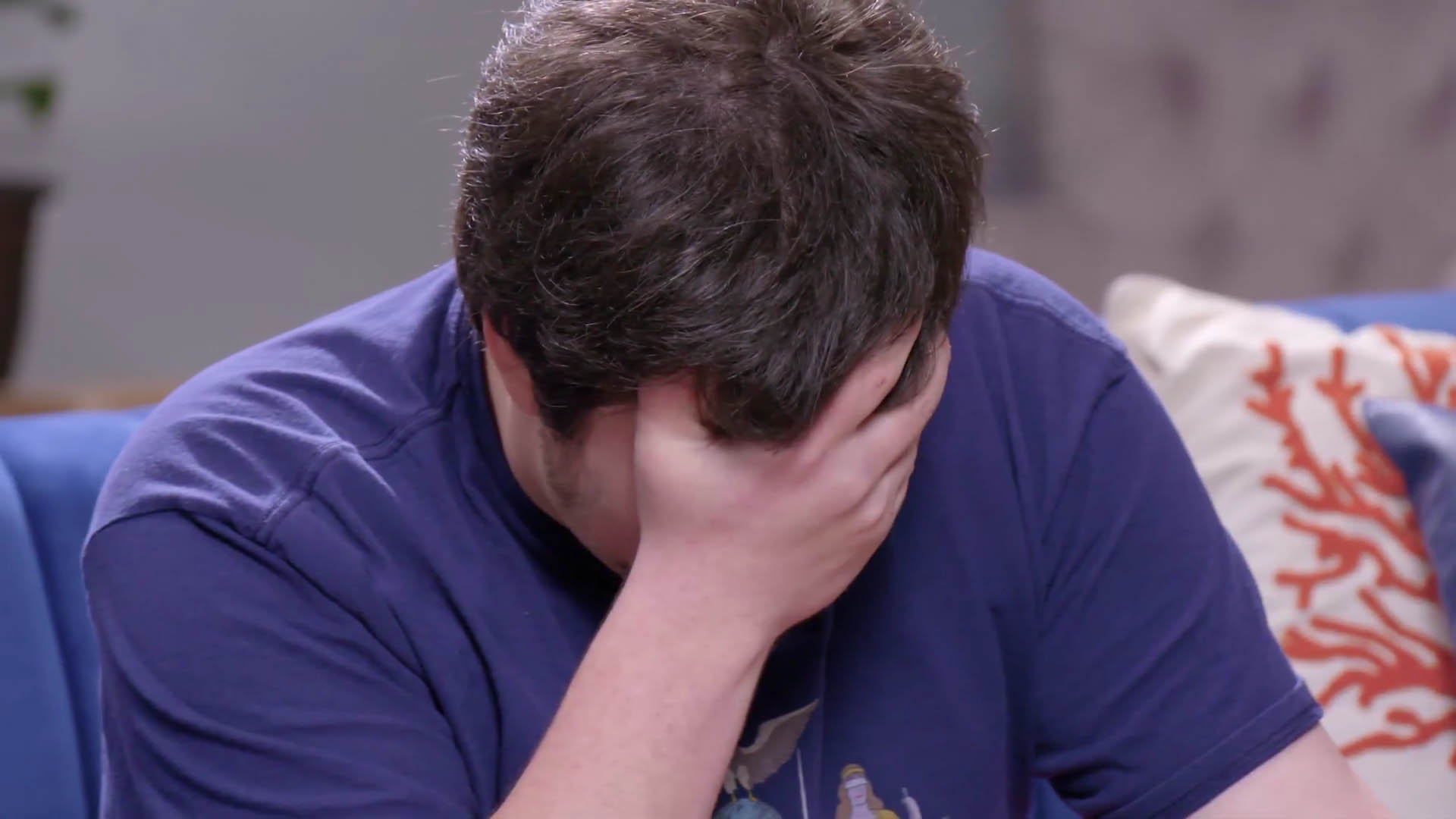 JonTron facepalming.